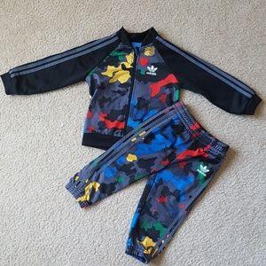Adidas Tracksuit (unisex) Toddler 12-18mo
